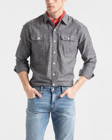 Levi's ® Classic Worker Shirt Grey