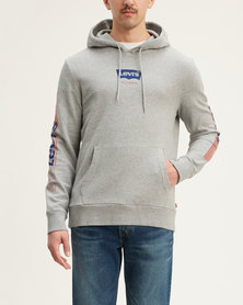 Levi's ® Graphic Pullover Hoodie Grey