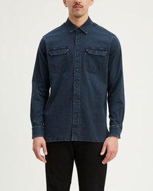 Levi's ® Classic Worker Shirt Blue