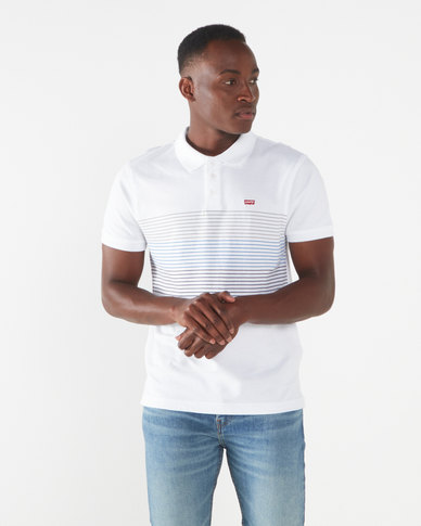 Levi's ® Housemark Polo Shirt White