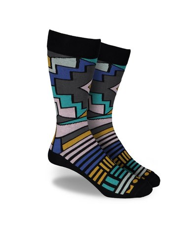 Molo Ndebele and Mudcloth Collection – Multi 2 Pairs