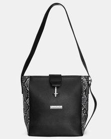 Cazabella Black Cara Handbag