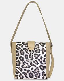 Cazabella Leopard Print Cara Handbag