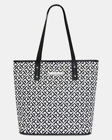 Cazabella Maze Print Donna Handbag