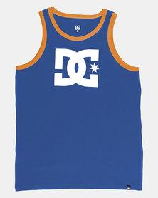 DC Boys Star TT Tank Blue
