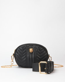Steve Madden Lion Bag Black