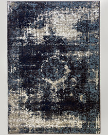 Lush Living Rug Dolce Charcoal Vintage 160 x 230