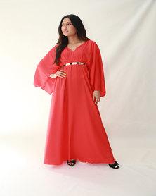 Mishah Kimono Maxi Dress
