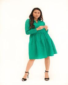 INFIN8TI Honeycomb Tier Dress