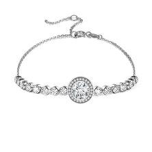 Civetta Spark Emma Bracelet With Swarovski Crystal- Clear