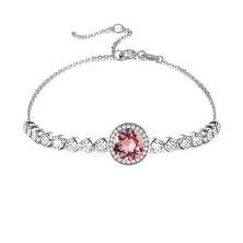 Civetta Spark Emma Bracelet With Swarovski Crystal- Light Rose