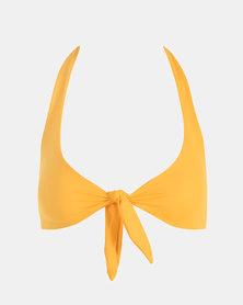 Beachcult Luna Swimwear Bikini-Top Sunshine Yellow