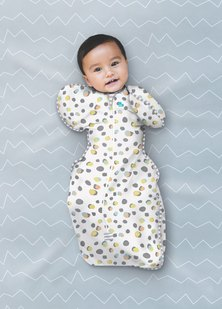 Love To Dream - Swaddle Up Designer - Polka Dots
