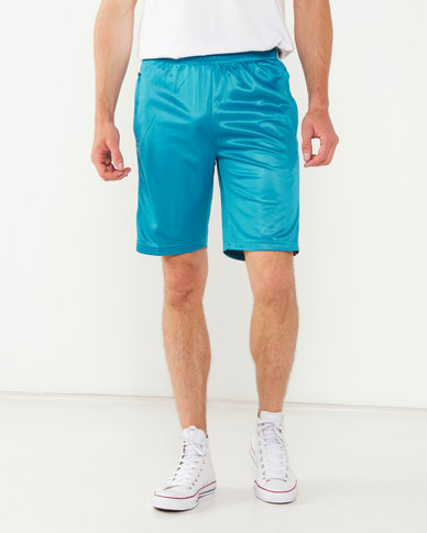 K-Star 7 Tinsta Tricot Short With Tape Detail Teal