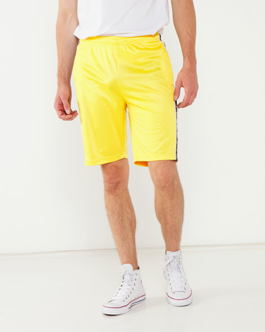 K-Star 7 Tinsta Tricot Short With Tape Detail Yellow