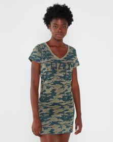 Lizzy Aleka Dress Green