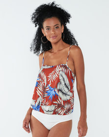 Paige Smith Palm Print Camisole Multi