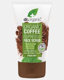 Dr. Organic Coffee Mint Face Scrub