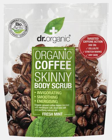 Dr. Organic Coffee Mint Body Scrub Pouch