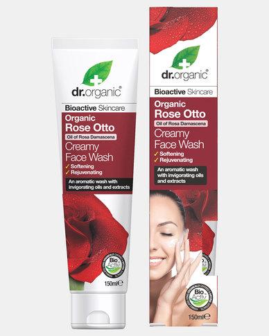 Dr. Organic Rose Otto Creamy Face Wash