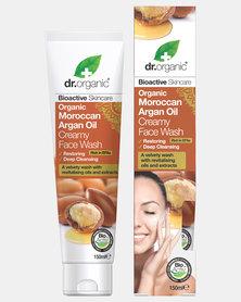 Dr. Organic Moroccan Argan Oil Creamy Face Wash