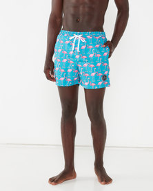 Rip Curl Flamingo Volley Swimshorts Blue