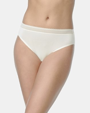 Warner's Breathe Freely Microfibre Hi-Cut Brief