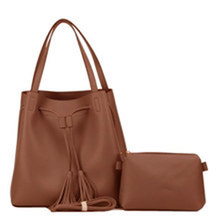 Valojusha shoulder bag with sling bag Brown v2077