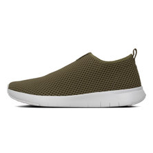 FitFlop Airmesh slip-on Avocado - Size 4