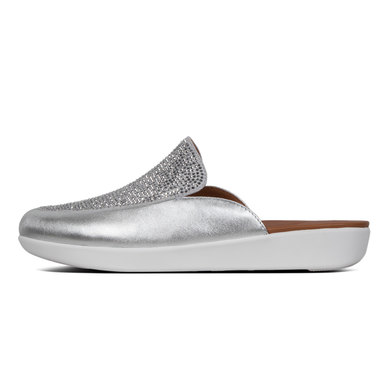 FitFlop Serene Crystalised Silver - Size 4