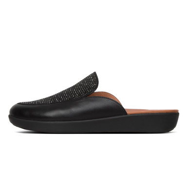 FitFlop Serene Crystalised Black - Size 4
