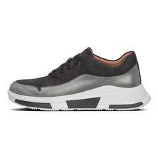 FitFlop Men's Flexknit Sneaker Light Grey - Size 7