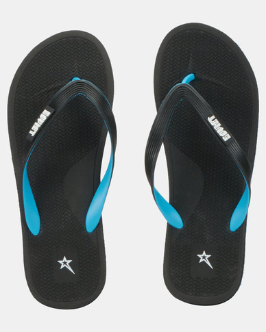 Soviet Tyson Sandals Black/Light Blue