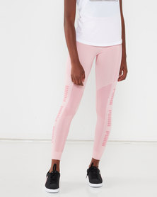 Puma Sportstyle Core evoKNIT Seamless Leggings Bridal Rose
