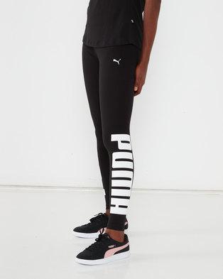 Puma Sportstyle Core Rebel Leggings Black