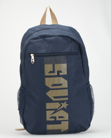 Soviet Beavers Backpack Navy/Tan