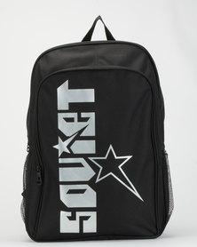 Soviet Crystal Palace Backpack  Black/Silver
