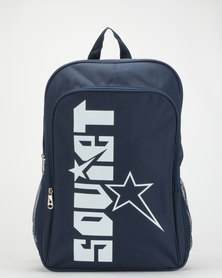 Soviet Crystal Palace Backpack Navy/White