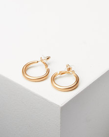 Lily & Rose Chunky Hoop Earrings Gold