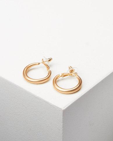 Lily & Rose Chunky Hoop Earrings Gold