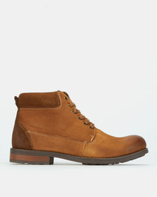 Bronx Men Lennox Boots Brown