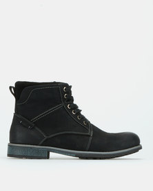 Bronx Men Lennox Boots Black