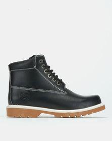 Bronx Men Hunter Gum Boots Black
