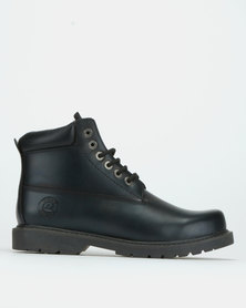 Bronx Men Hunter Boots Black