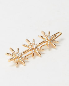 Lily & Rose Celestial Hair Clips Gold