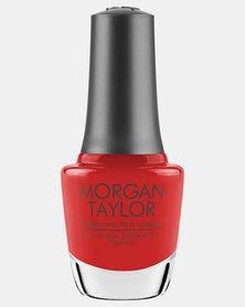 Morgan Taylor Put On Your Dancin' Shoes Nail Polish Red