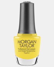 Morgan Taylor Glow Like A Star Nail Polish Yellow
