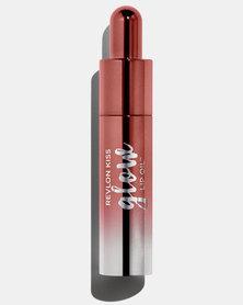 Revlon Kiss Glow Lip Oil Bouncy Beige