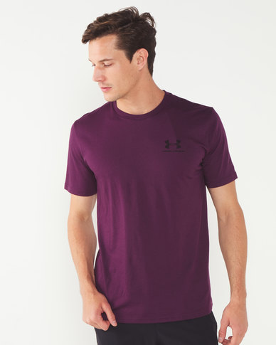Under Armour Sportstyle Left Chest Short Sleeve Multi