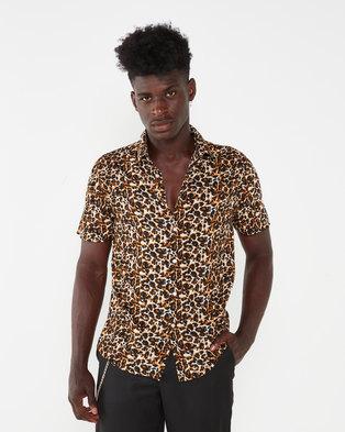 Utopia Viscose Shirt Animal Print